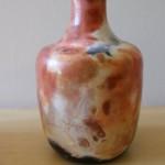 Pit-fired vase